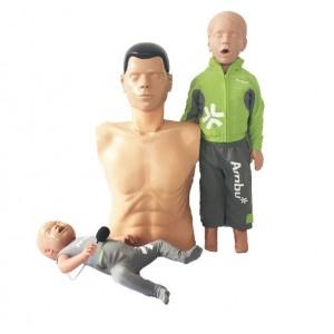Pack mannequins de secourisme Ambu ECO +
