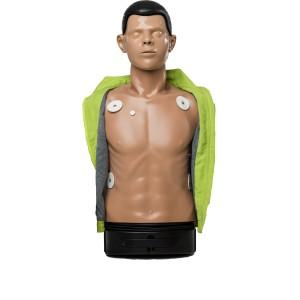 Mannequin de secourisme AmbuMan Defib Wireless Torse