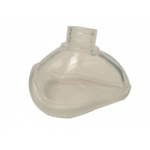 Masque transparent Silicone  Monobloc T4