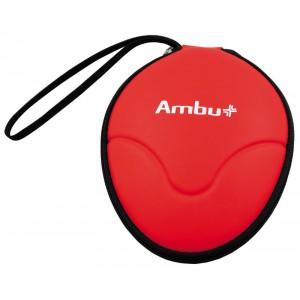 Masque protecteur Ambu Res-Cue Mask en étui semi-rigide rouge