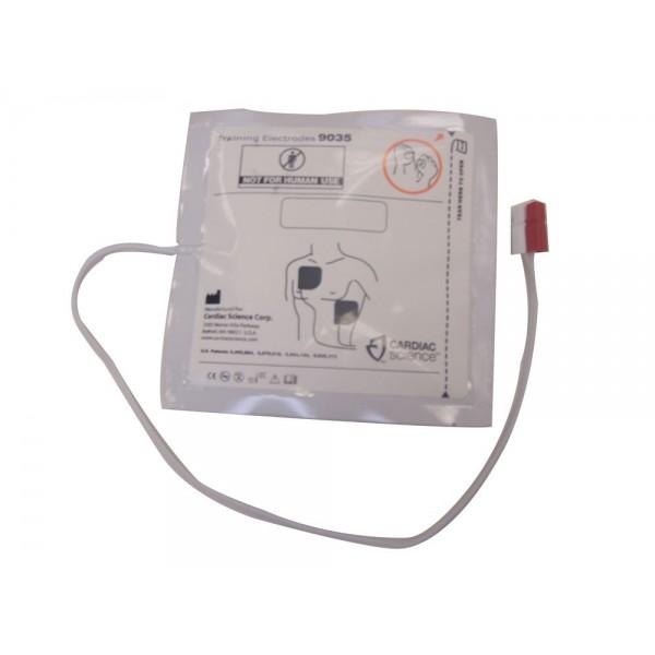 electrodes adulte pour formation dsa da. Black Bedroom Furniture Sets. Home Design Ideas