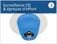 Surveillance courte durée et épreuve d'effort