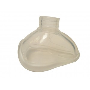 Masque transparent Silicone  Monobloc T3